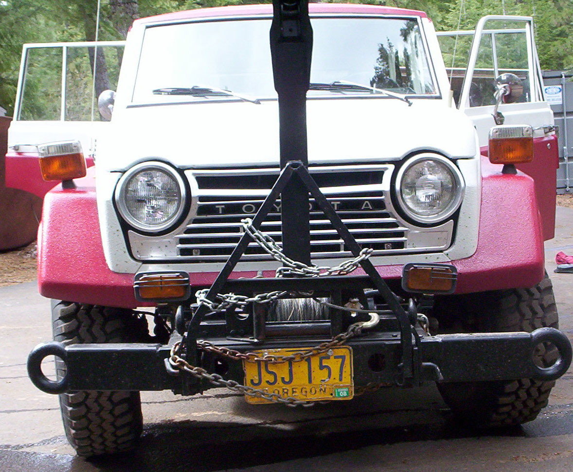 1979 TOYOTA LAND CRUISER - PTO WINCH AND TOW PACKAGE